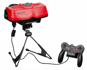 Virtual Boy gaming device